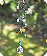 12 Heart Healing Crystals Sun Catcher