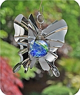 Butterfly Globe Wind Spinner