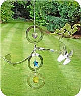 Crystal Butterfly Spinner