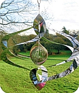 Dancing Helix Wind Spinner