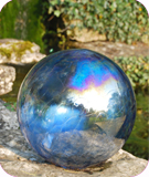 Ocean Blue Gazing Ball