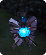 Solar Butterfly Wind Spinner
