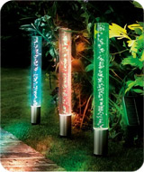 Solar Jumbo Crystal Bubble Lights (Pack of 3)