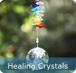 Garden Ornaments - Healing Crystals