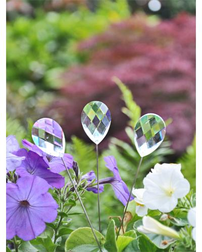 3 Crystal Stakes Sun Catcher