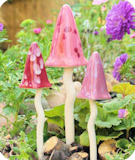 Tinkling Toadstools Pink Shades